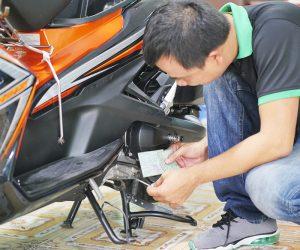 thuê thợ kiểm tra xe cũ, kiểm tra số khung số máy airblade