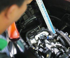 tìm thợ test xe máy cũ, cách kiểm tra số khung số máy xe AB