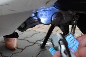 kiểm tra số máy xe SH Việt Nam