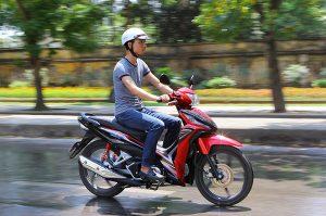 Chạy thử xe máy
