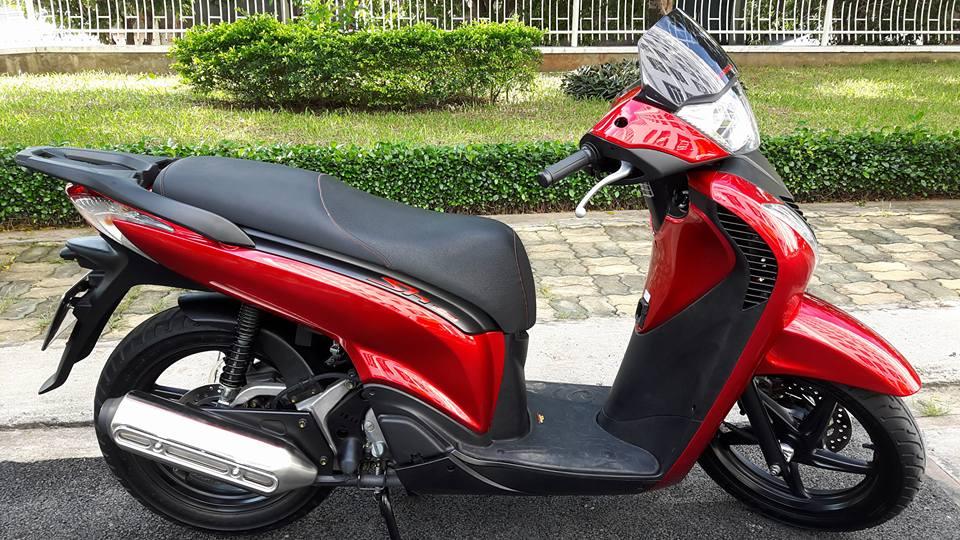 SH Ý 2009 màu đỏ
